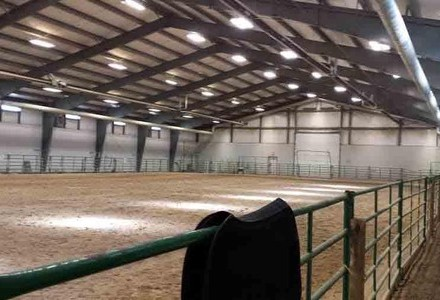 Indoor Riding Arena 100' x 200'